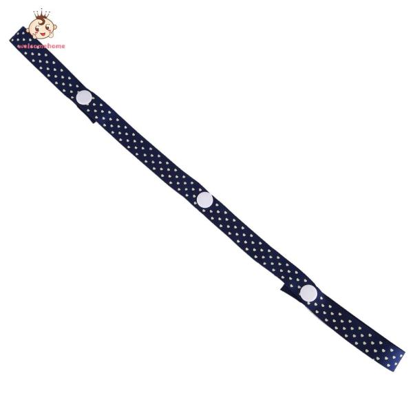 Stroller Toys Saver Fixed Band (Navy blue) Singapore