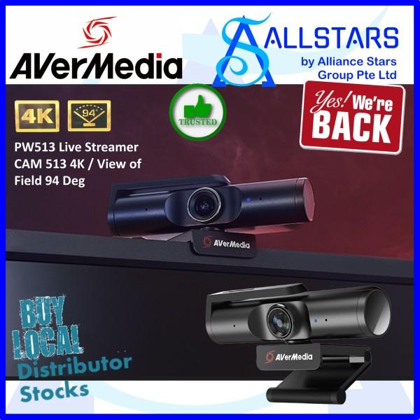 (ALLSTARS : We Are Back Promo) AVERMEDIA PW513 Live Streamer CAM 513 4K / View of Field 94 Deg (Warranty 1year with Avertek)