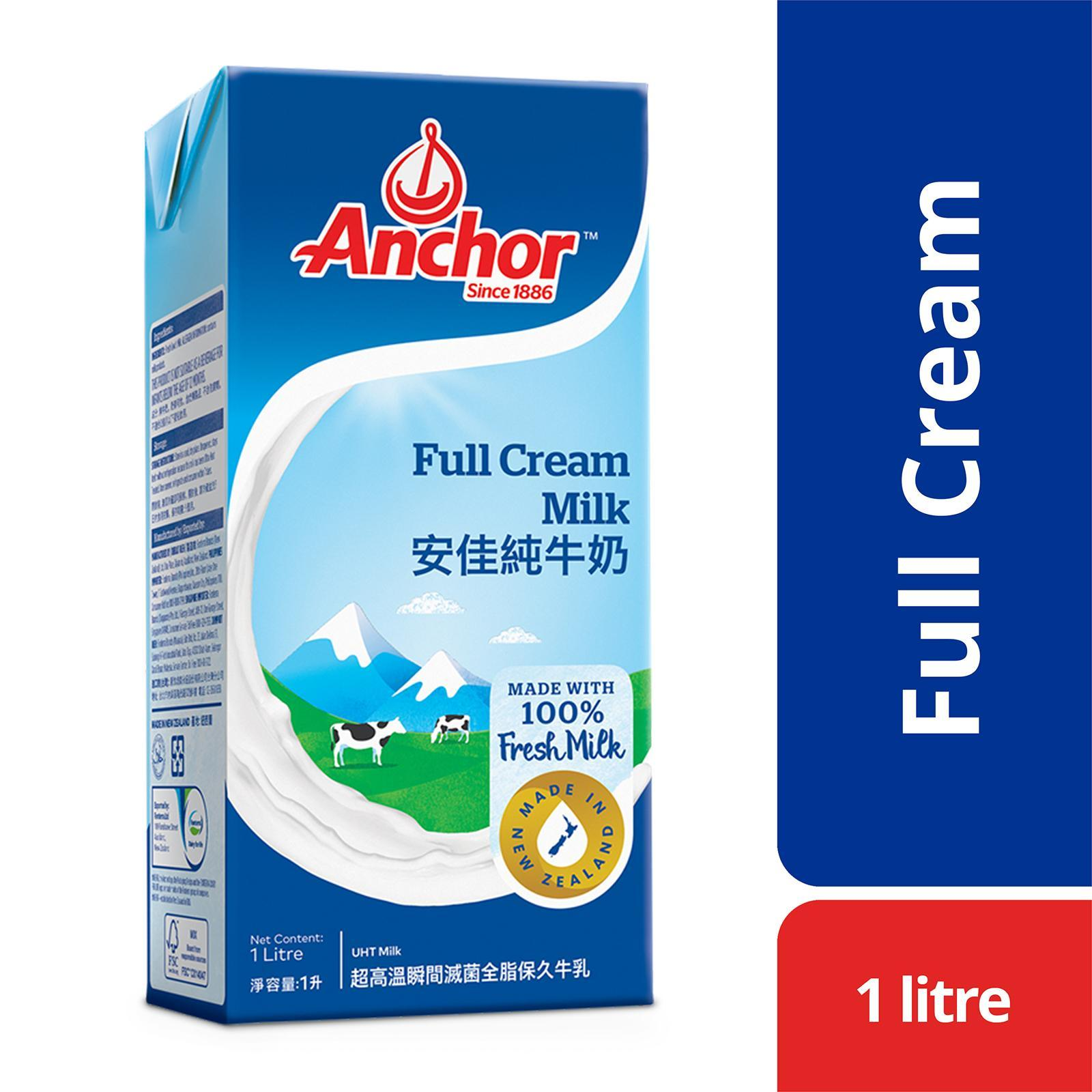 Anchor Full Cream New Zealand UHT Milk