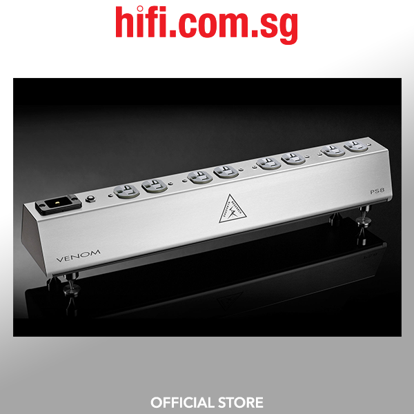 Shunyata Research VENOM PS8 Power Distributor + VENOM HC v2 C19 Power Cord