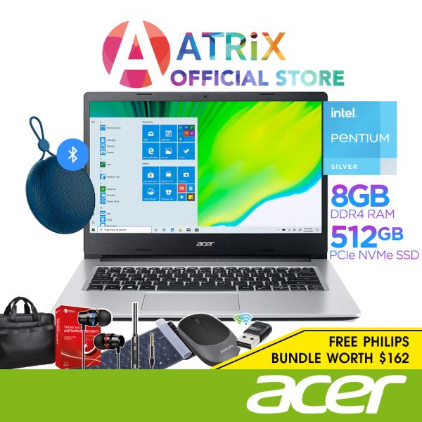 【Free BT Speaker】Acer Aspire 3 A314-35-P5HD | 14inch FHD 1920x1080 | Pentium Silver N6000 | 8GB DDR4 | 512GB SSD | 1Y Acer Warranty