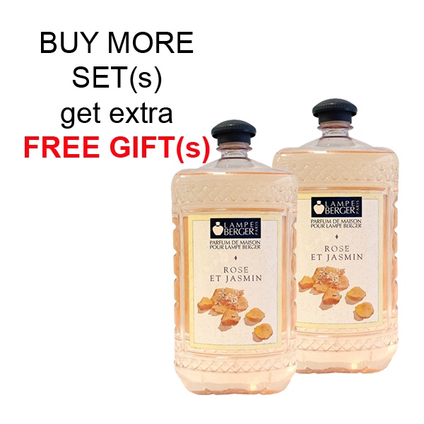 Buy LAMPE BERGER LB ESSENTIAL OIL 2L SET (2 BOTTLES) - ROSE ET JASMIN (荳蔻) Singapore