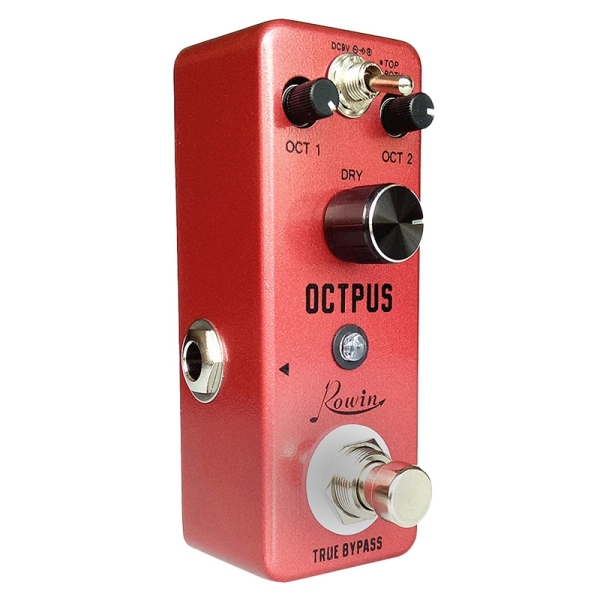 Rowin LEF-3806 Pure Octpus Guitar Effect Pedal Electric Guitars Digital Octave Pedals 11 Different Octaves Modes
