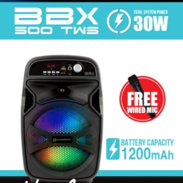 Audiobox BBX 500tws Portable Speaker With Free Wired Mic Singapore
