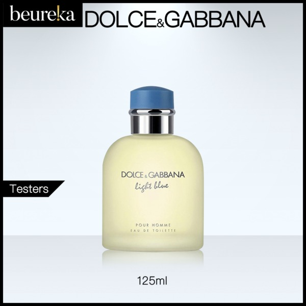 Buy Dolce Light Blue Pour Homme EDT 125ml Tester - Beureka [Luxury Beauty (Perfume) - Fragrances for Men Brand New 100% Authentic] Singapore