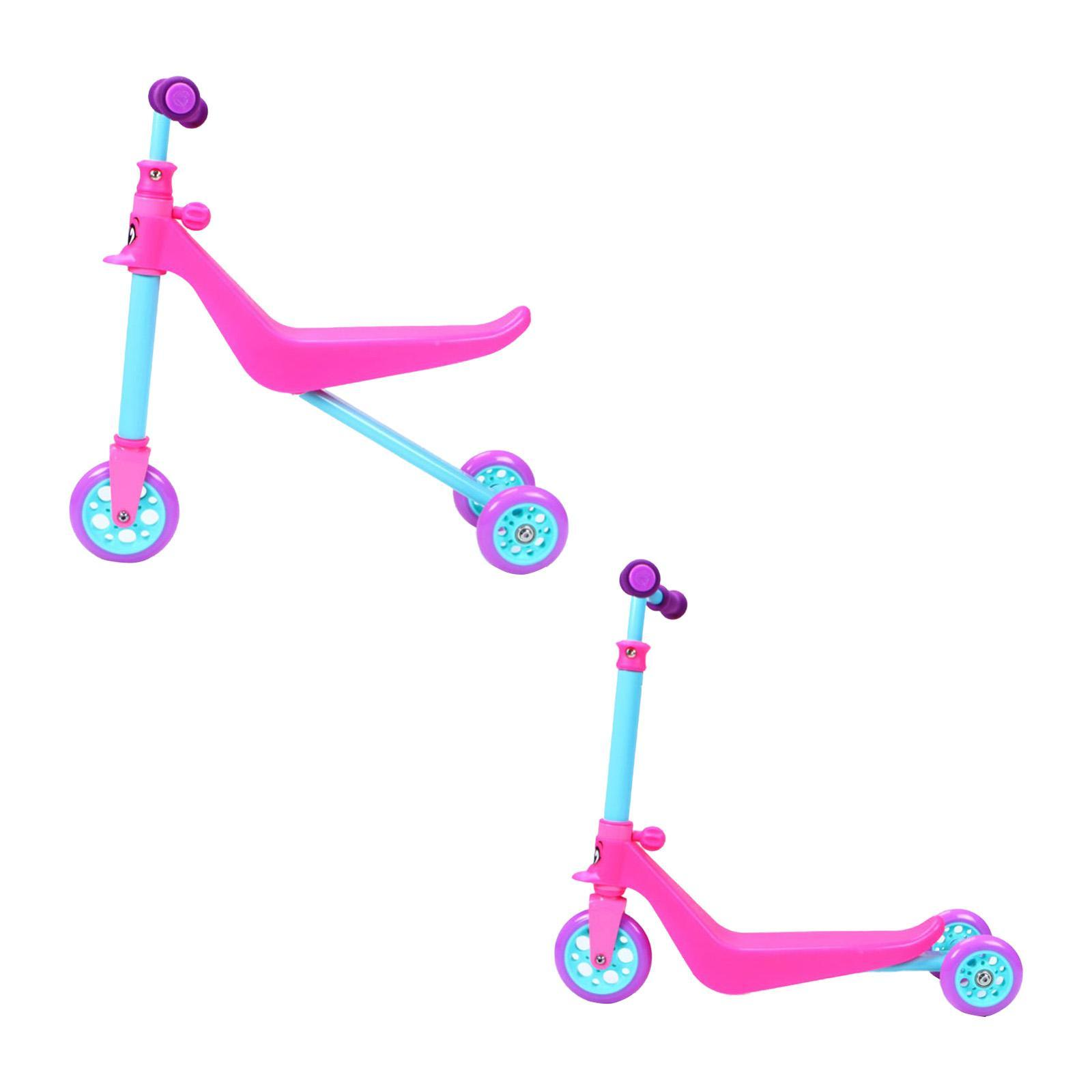 Zycom Zykster 2-In-1 Scooter-And-Balance Trike - Teal/purple/pink By Redmart.