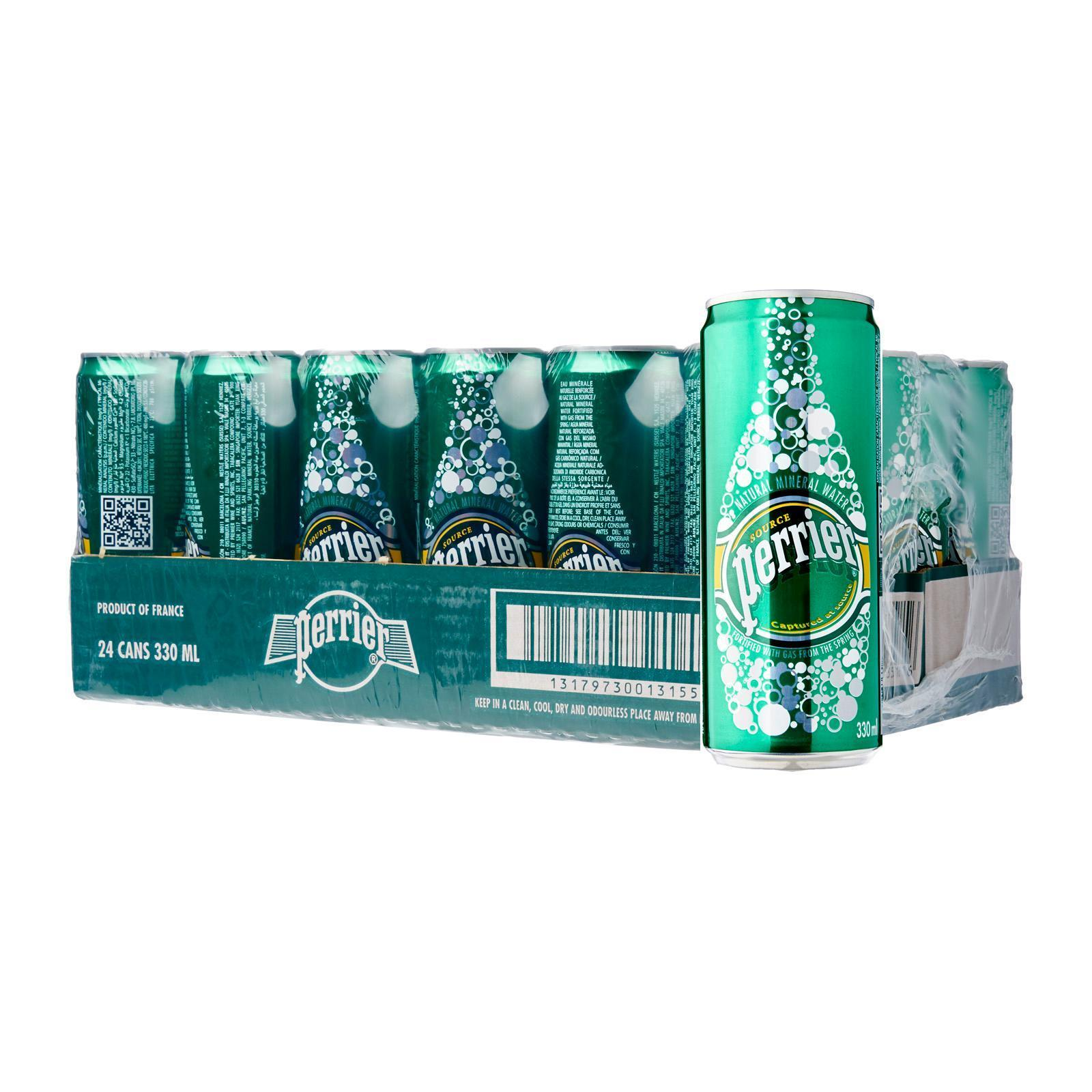 Perrier Sparkling Natural Mineral Water - Case By Redmart.