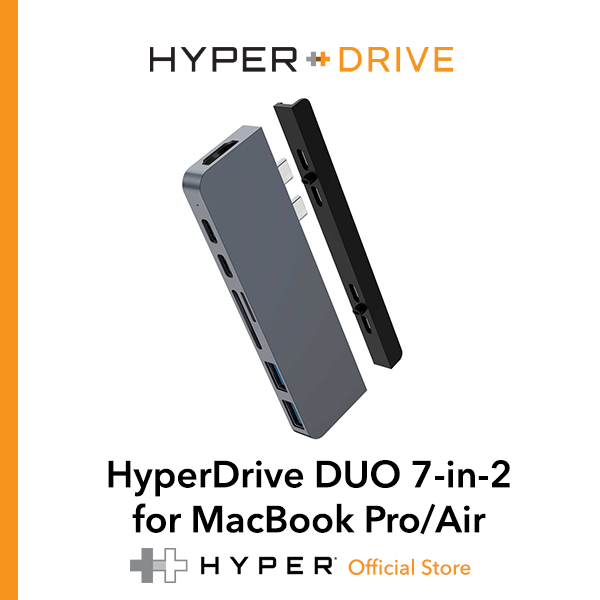 HyperDrive DUO 7-in-2 for MacBook Pro/Air