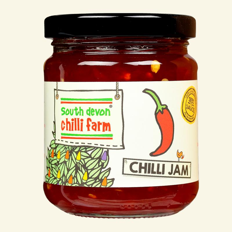 South Devon Chilli Jam 250g By Chillime.