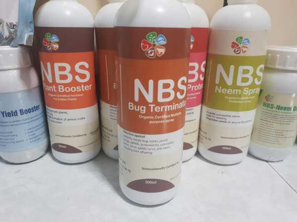 NBS Organic Bug Terminator Spray