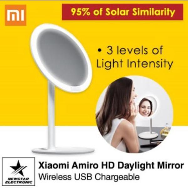 Buy Xiaomi AMIRO HD Daylight Mirror Professional Vanity Makeup Mirror (EXPORT) Singapore