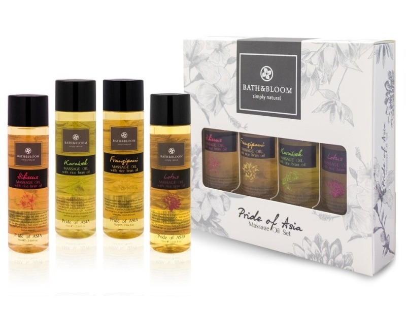 Buy Bath and Bloom Pride of Asia Massage Oil Set Singapore