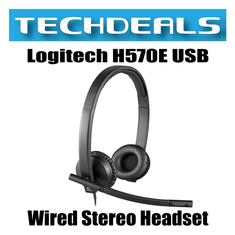 Logitech H570E USB Wired Stereo Headset Singapore
