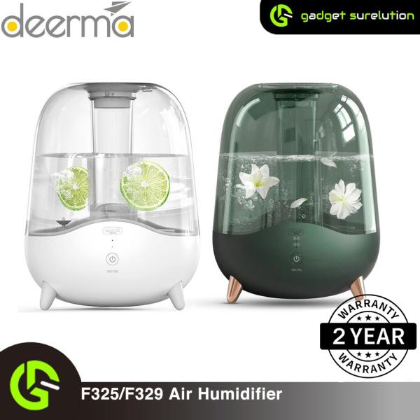Xiaomi Deerma F329/F325 Ultrasonic Cool Mist Humidifier 5L Silent Aromatherapy Diffuser Transparent Water Tank Singapore