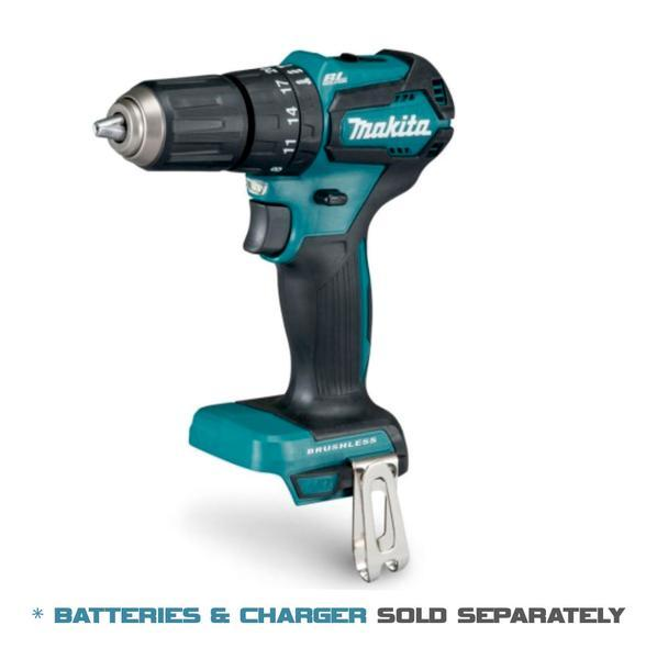 Makita Cordless Hammer Driver Drill 18V LXT BL Brushless