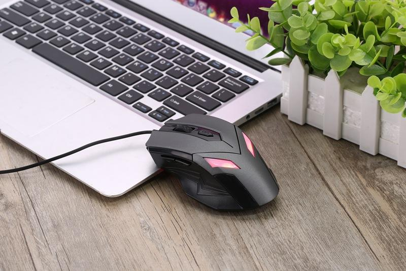 Optical USB Wired Gaming Office Mouse Large Big Comfortable Ergonomic High Quality Black or Grey