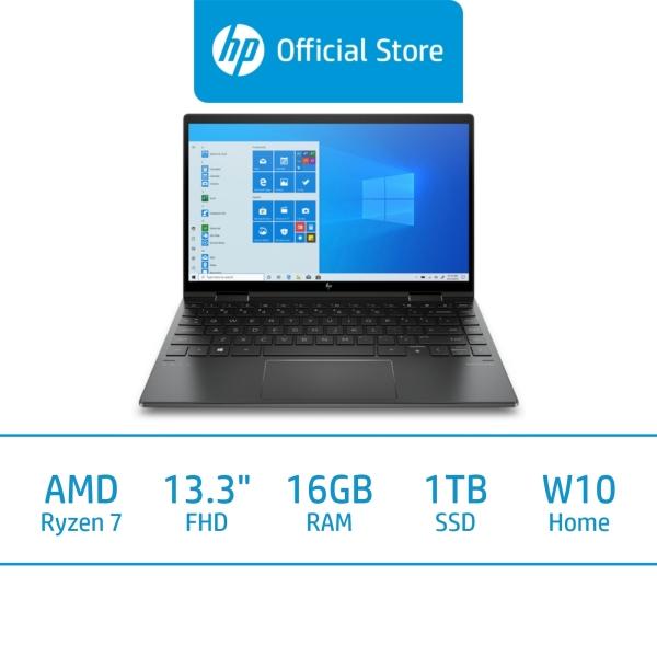 HP ENVY x360 Laptop - 13-ay0010au / AMD Ryzen™ 7 4700U / 16GB RAM / 1TB SSD / 13.3 FHD / Win 10 / 2 Years Warranty + 2 Years ADP / Free 1 Mth McAfee LiveSafe Trial / Long Battery Life / Micro-Edge Display
