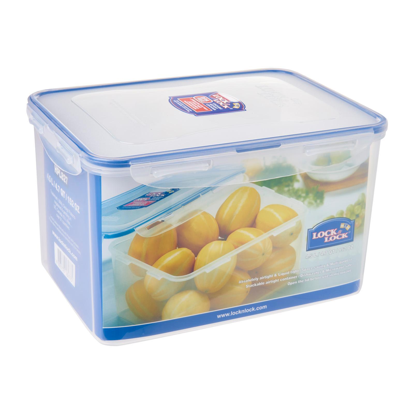 Lock & Lock Rectangular Classic Food Container 4.5L