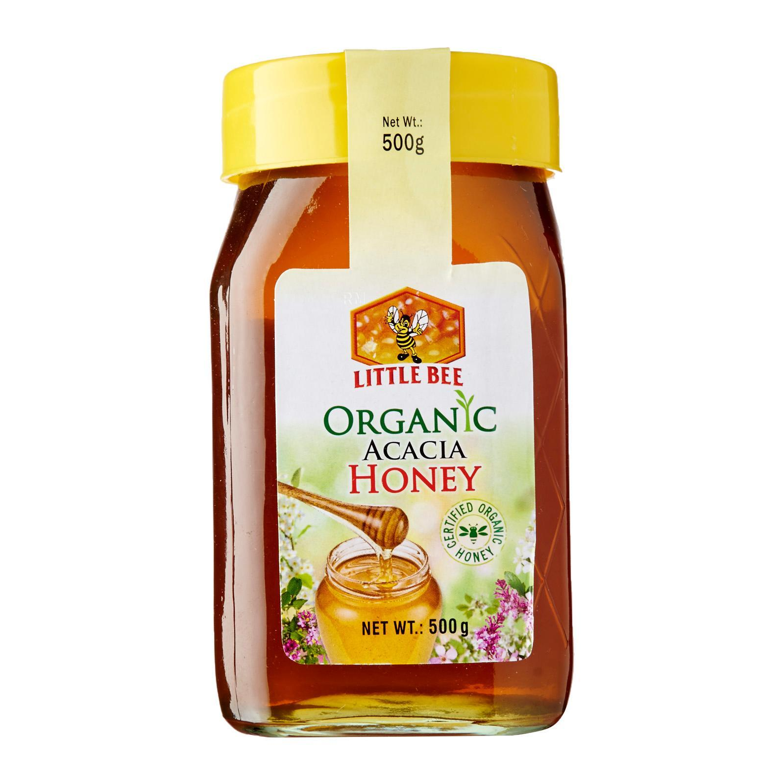 Little Bee Certified Organic Acacia Honey