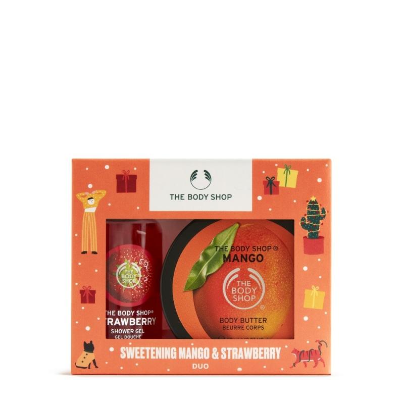 Buy The Body Shop Sweet Mango & Strawberry Duo ( Christmas Gift Set) Singapore