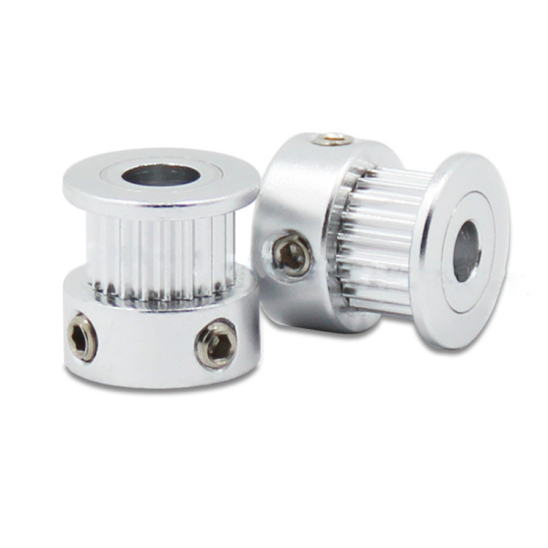Giá Hot 3D Printer Parts Accessory 2pcs GT2 16teeth 16 teeth Timing Alumium Pulley Bore 5mm Width 6mm With 2meters 2m 6mm GT2 Belt