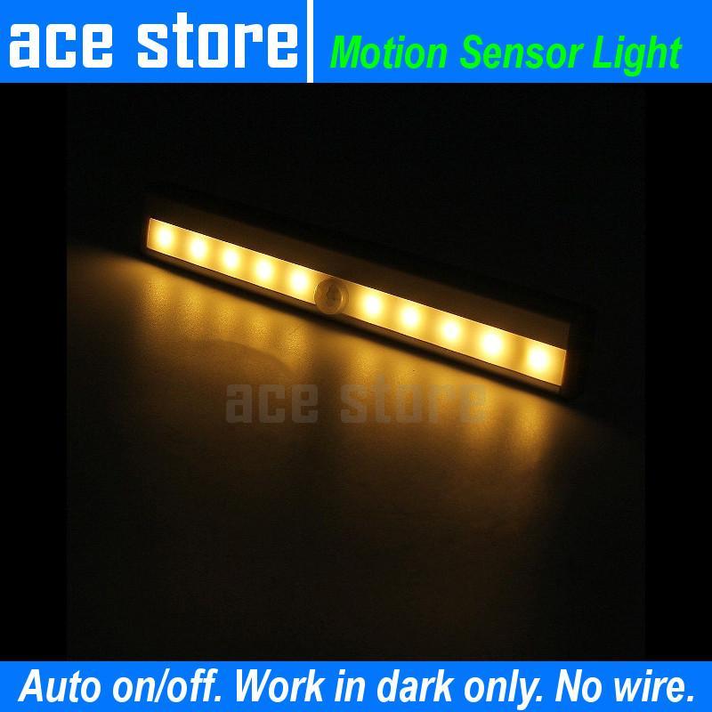 LED Motion Sensor Night Light - Rechargeable Model
