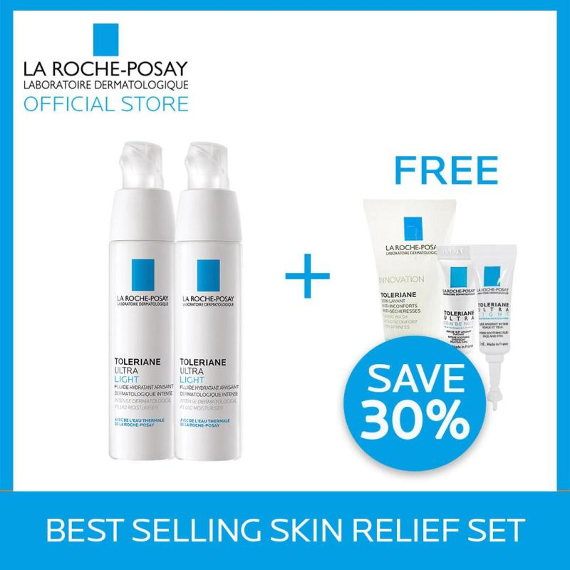 Buy La Roche-Posay Best Selling Skin Relief Set   (worth $94.24) Singapore