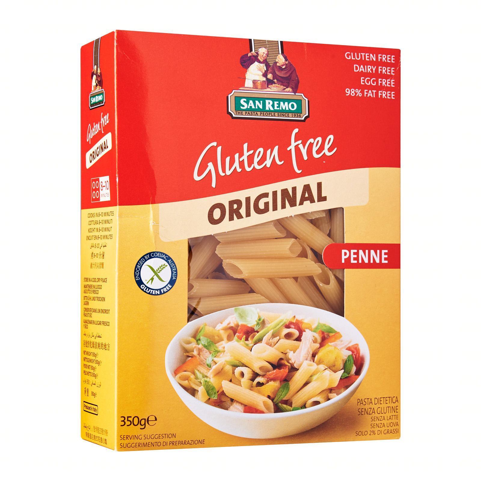 SAN REMO Gluten Free Penne 350g
