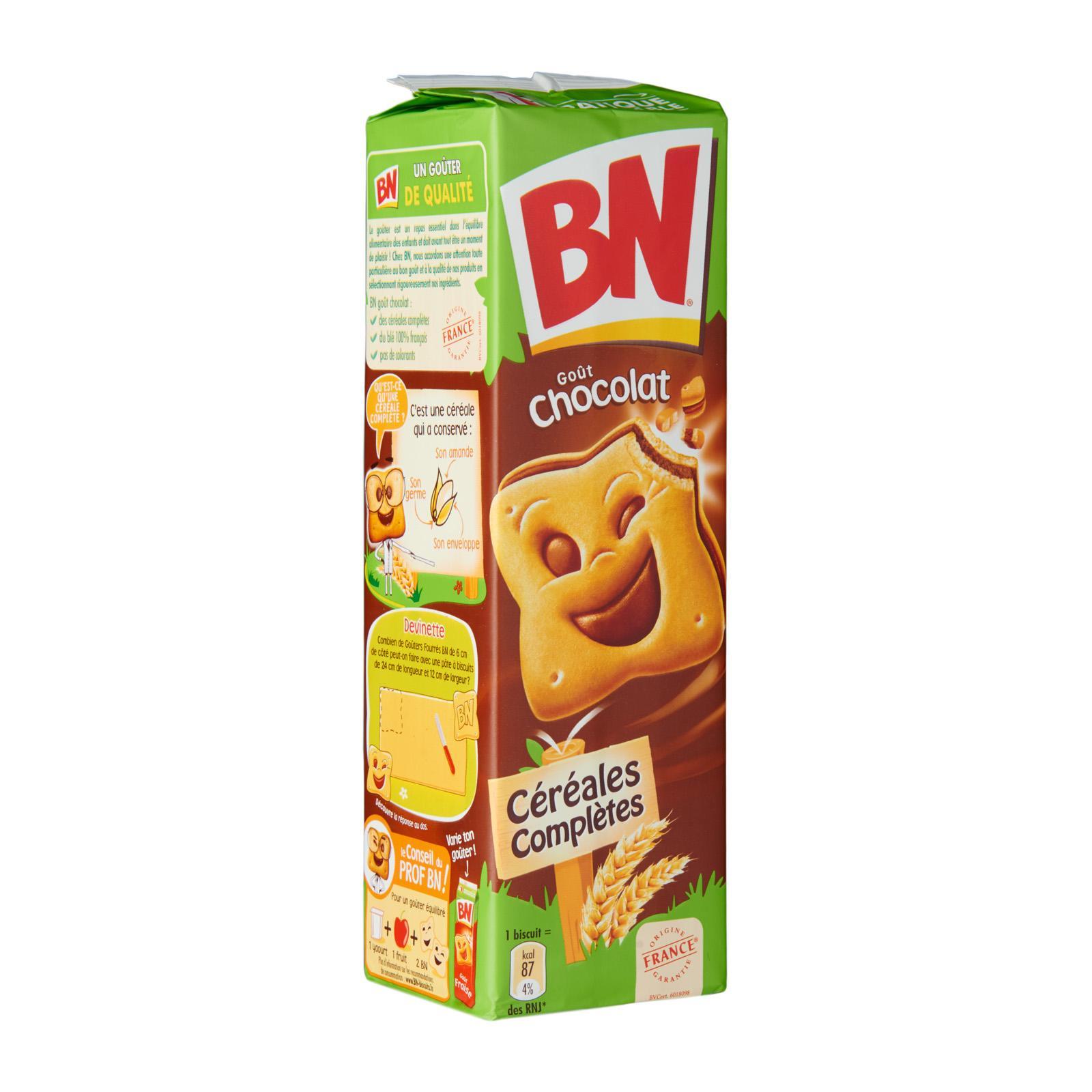 BN Chocolate Flavour Sandwich Biscuits