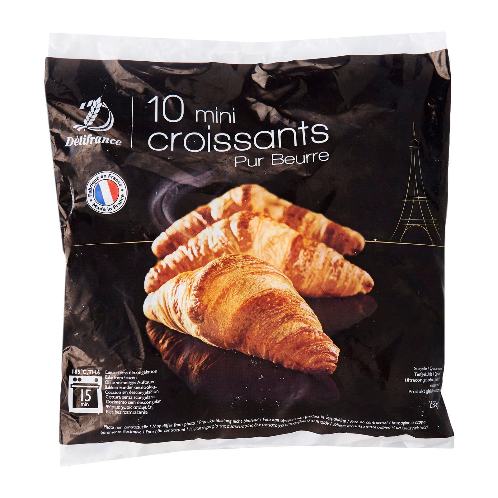 Delifrance Mini Butter Croissant - Frozen By Redmart.