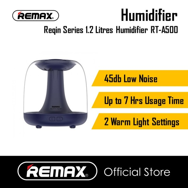 Remax RT-A500 Reqin Series 1.2 Litres Humidifier 45 db Low noise Up to 7 Hours Usage time Singapore