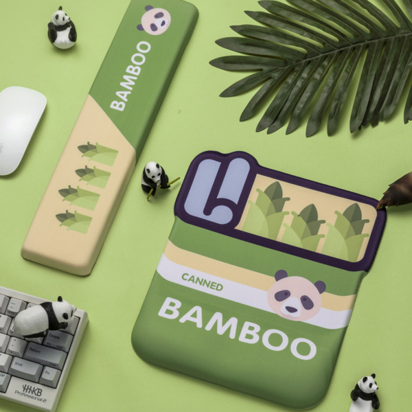 Nicront Cartoon Cute Panda Design Silicone Non-slip Mouse Pad Keyboard Mouse Mat with Wrist Rest for Office Home Malaysia