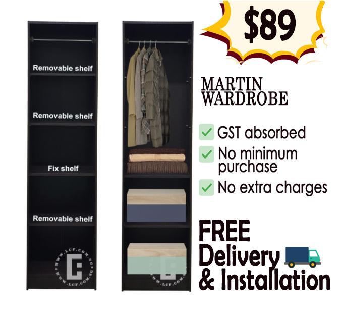 Martin 1-door Wardrobe