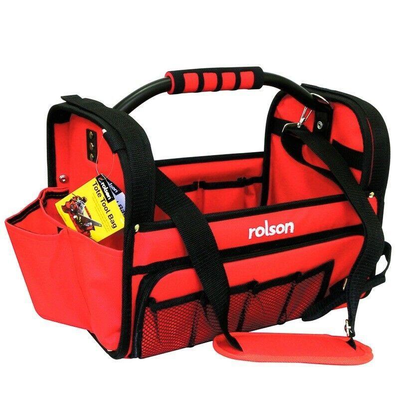 Rolson 68255 Multi Purpose Tote Tool Bag