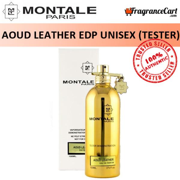 Buy Montale Aoud Leather EDP for Unisex Men Women (100ml Tester) Eau de Parfum Gold [Brand New 100% Authentic Perfume/Fragrance] Singapore