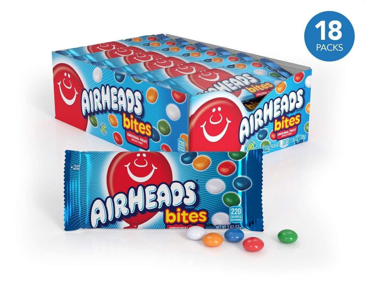 Airheads Bites - 18 count box [Free shipping via NinjaPack!]