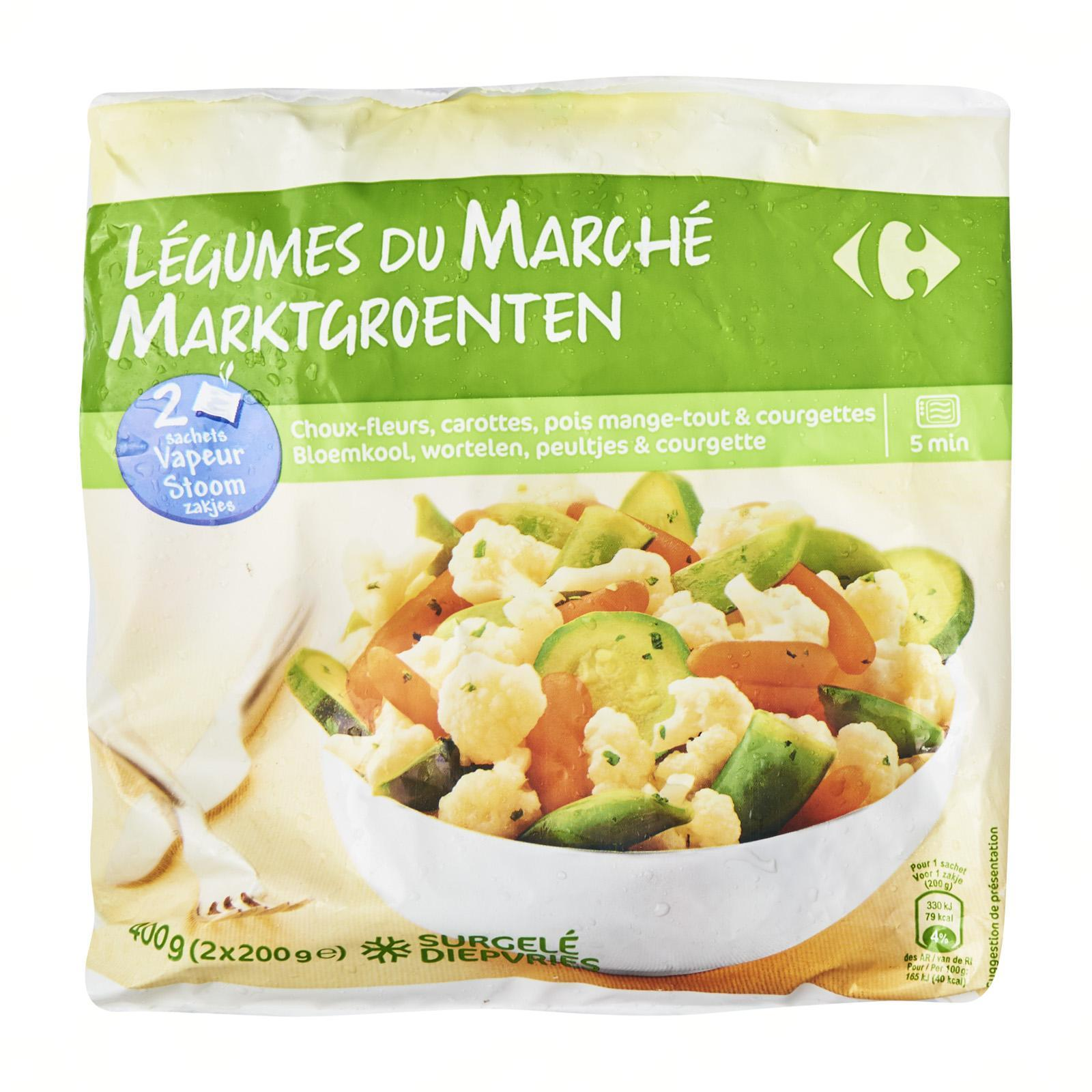Carrefour Vegetables From The Market - Frozen - By Le Petit Depot By Redmart.