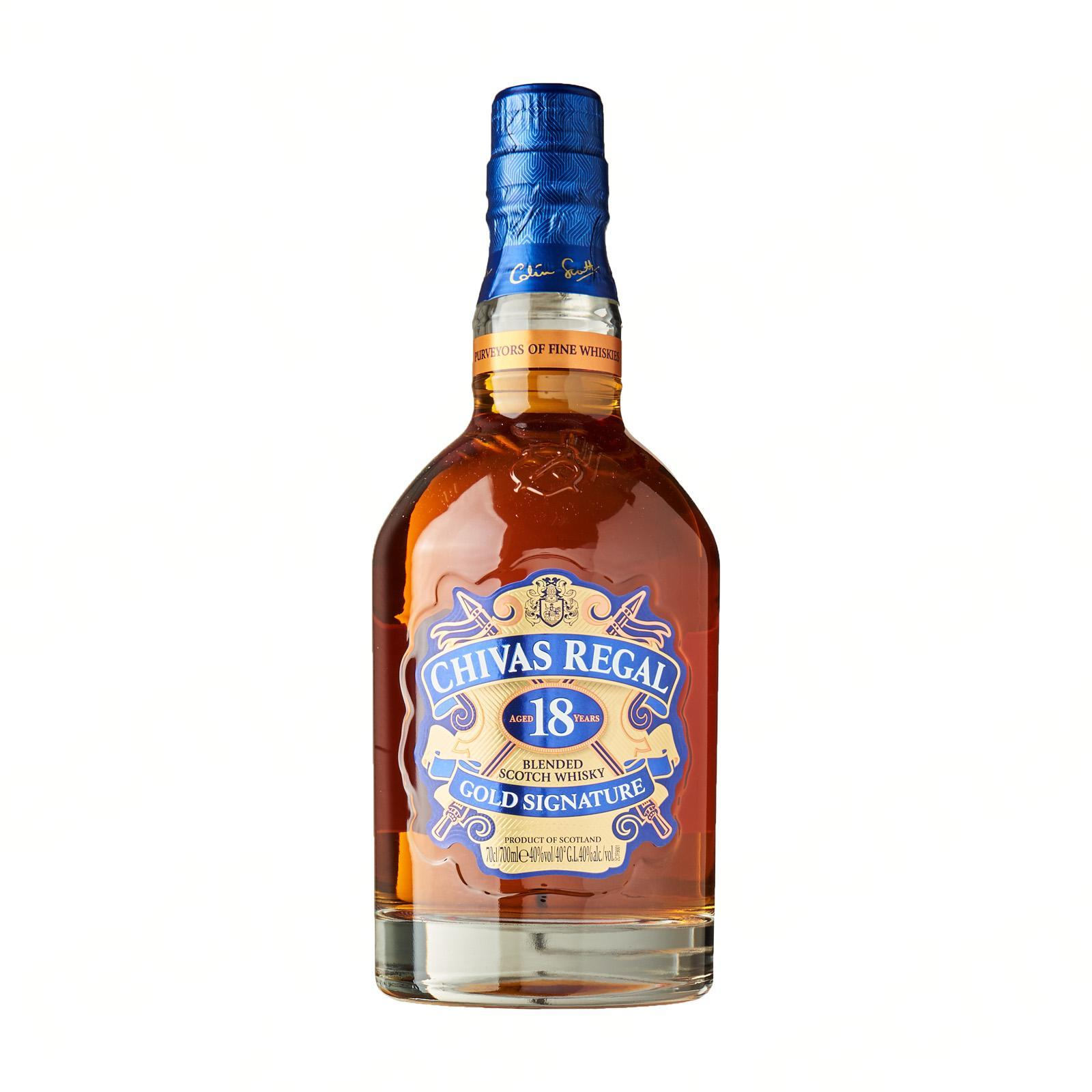 CHIVAS REGAL Blended Scotch Whisky 18 Years 700ml