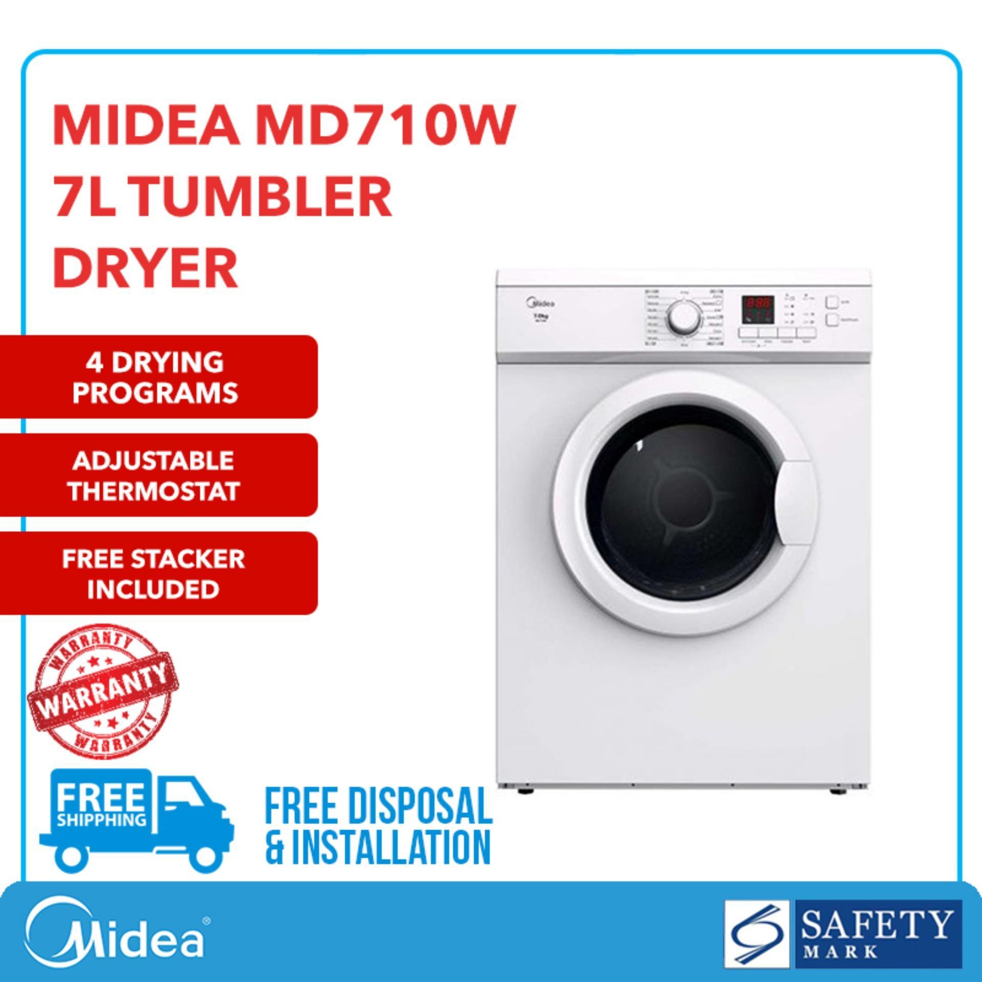 Midea Md710w Tumble Dryer (7kg) By Midea Official Shop.