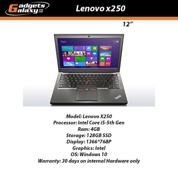 Lenovo Thinkpad x250 Local Refurbished