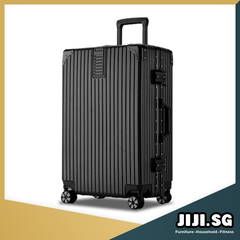 (JIJI SG) Risako Deluxe Luggage / Travel / Luggage / 20 / 24 / 28 inch / Number Lock / (SG)