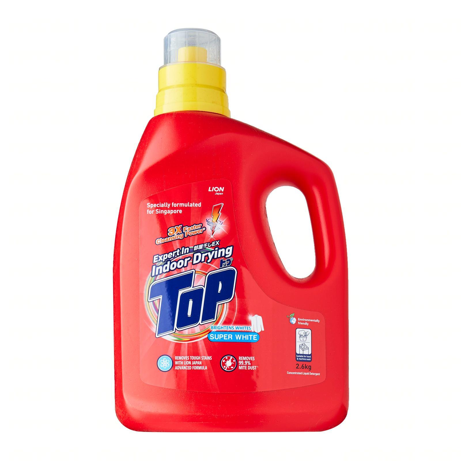 Top Super White Concentrated Liquid Detergent