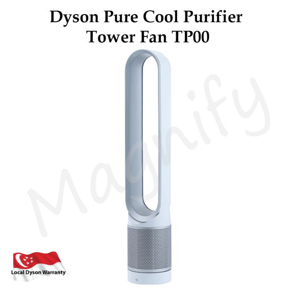 Dyson Pure Cool Purifier Tower Fan TP00 (White/Silver) Singapore