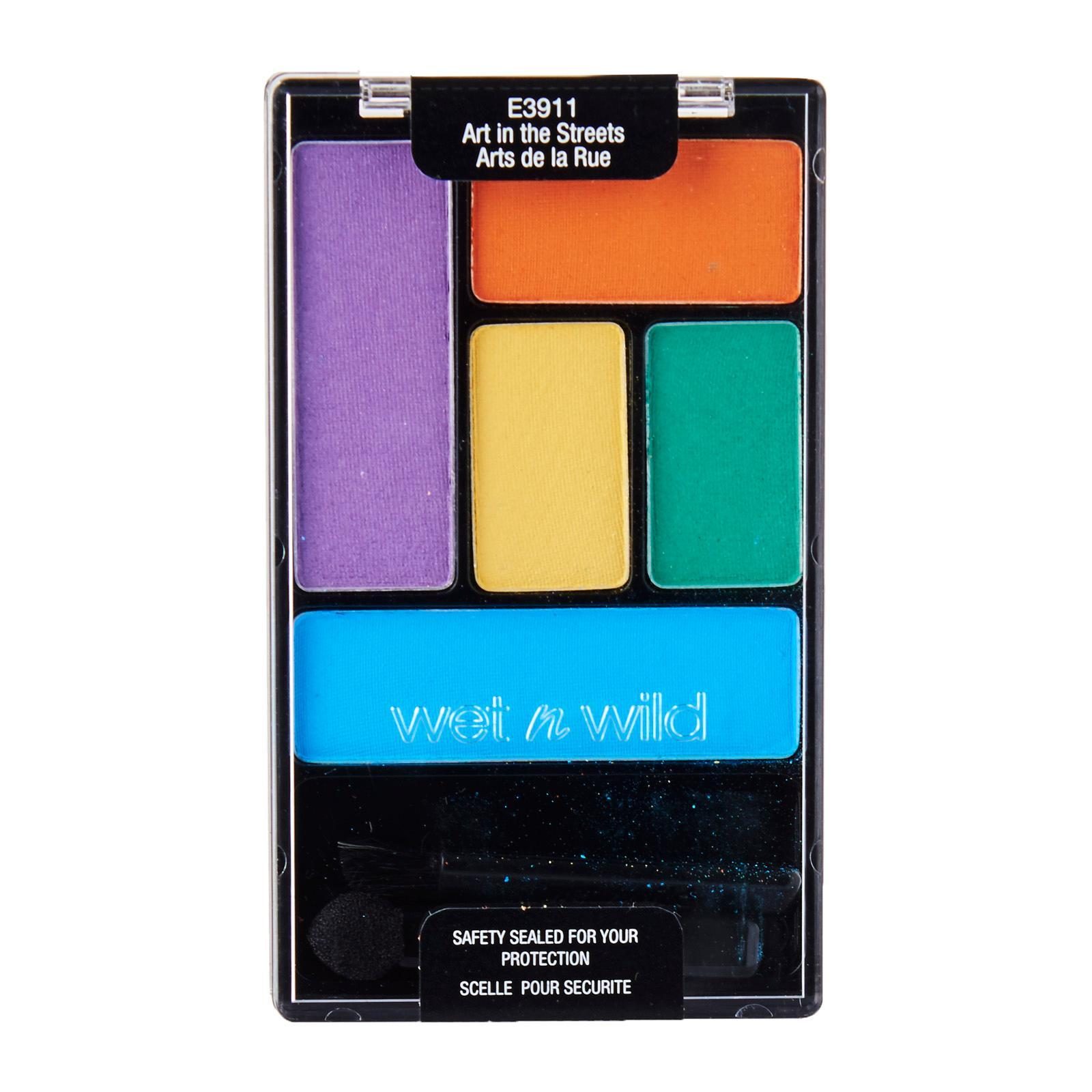 Wet n Wild Color Icon Eye Shadow Palette Art In The Streets E3911
