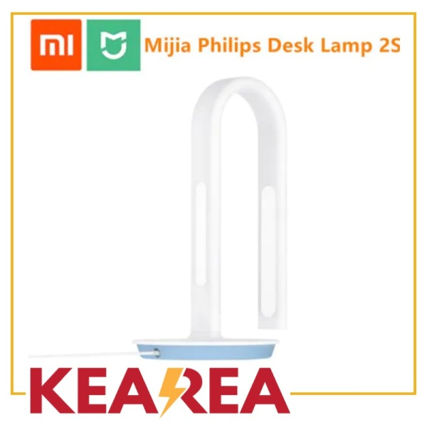 (Ready Stock) XIAOMI MIJIA Philips Desk Lamp 2S LED Smart table lamp bending student lamp office reading table light bedroom night light APP