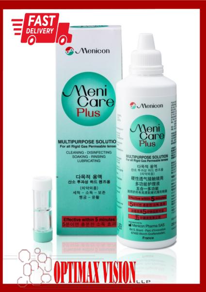 Buy Menicon MeniCare Plus Multi-Purpose Rigid Gas Permearble Contact Lens Solution (250 ml) (Expiry Date 2023-02-28)) Singapore