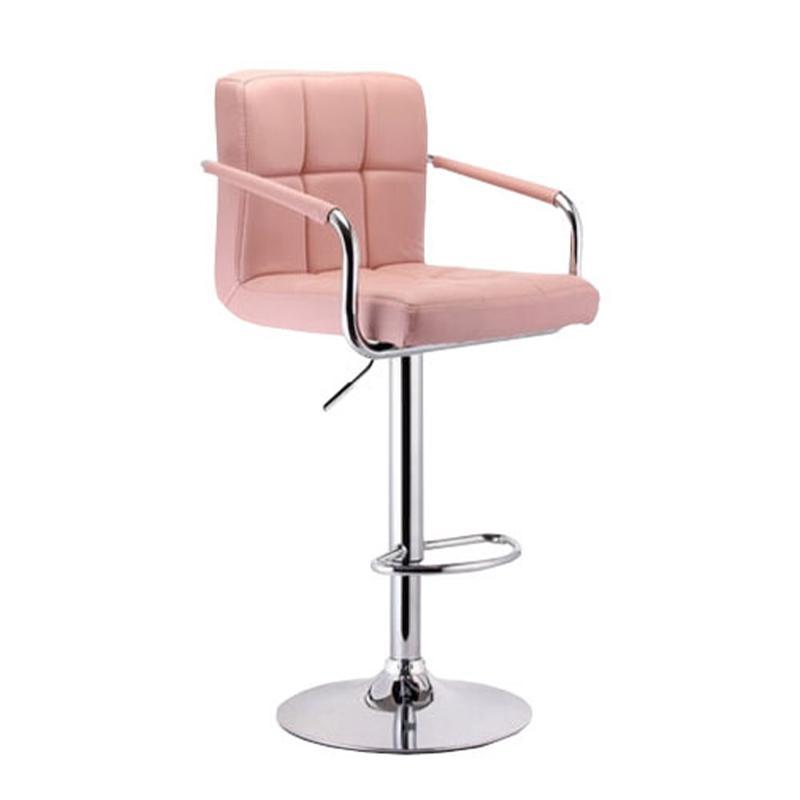 JIJI (ISORA Bar Stool with Armrest 60-80cm) (Free Installation) - (Bar Stools)/ Bar Chairs / Bar Stools / high chair /Designer dining Chair /Bar high chair/ Furniture Chair / Free 6 Months Warranty (SG)