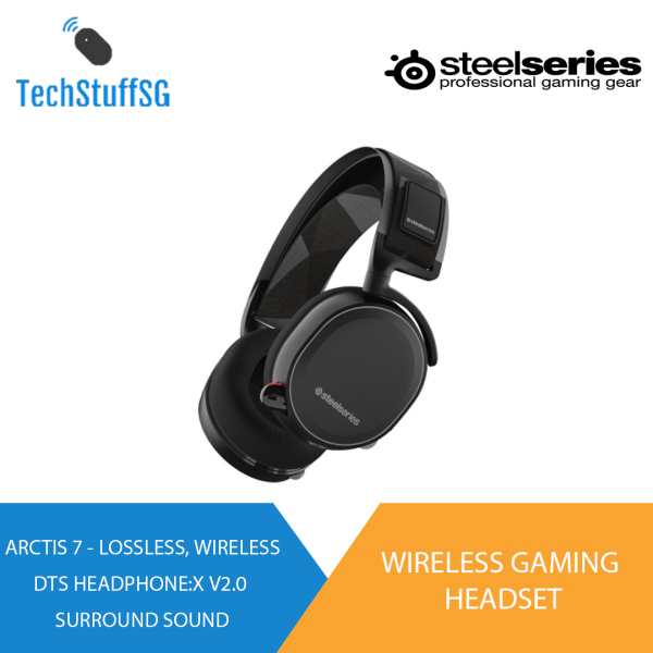 SteelSeries Arctis 7 Wireless Gaming Headset 2019 Edition [SAME DAY DELIVERY AVAILABLE]