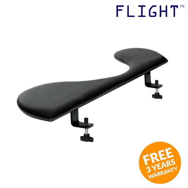 Forearm Support, Black Keyboard Armrest Support, Workstation Accessory - F-S - Flight