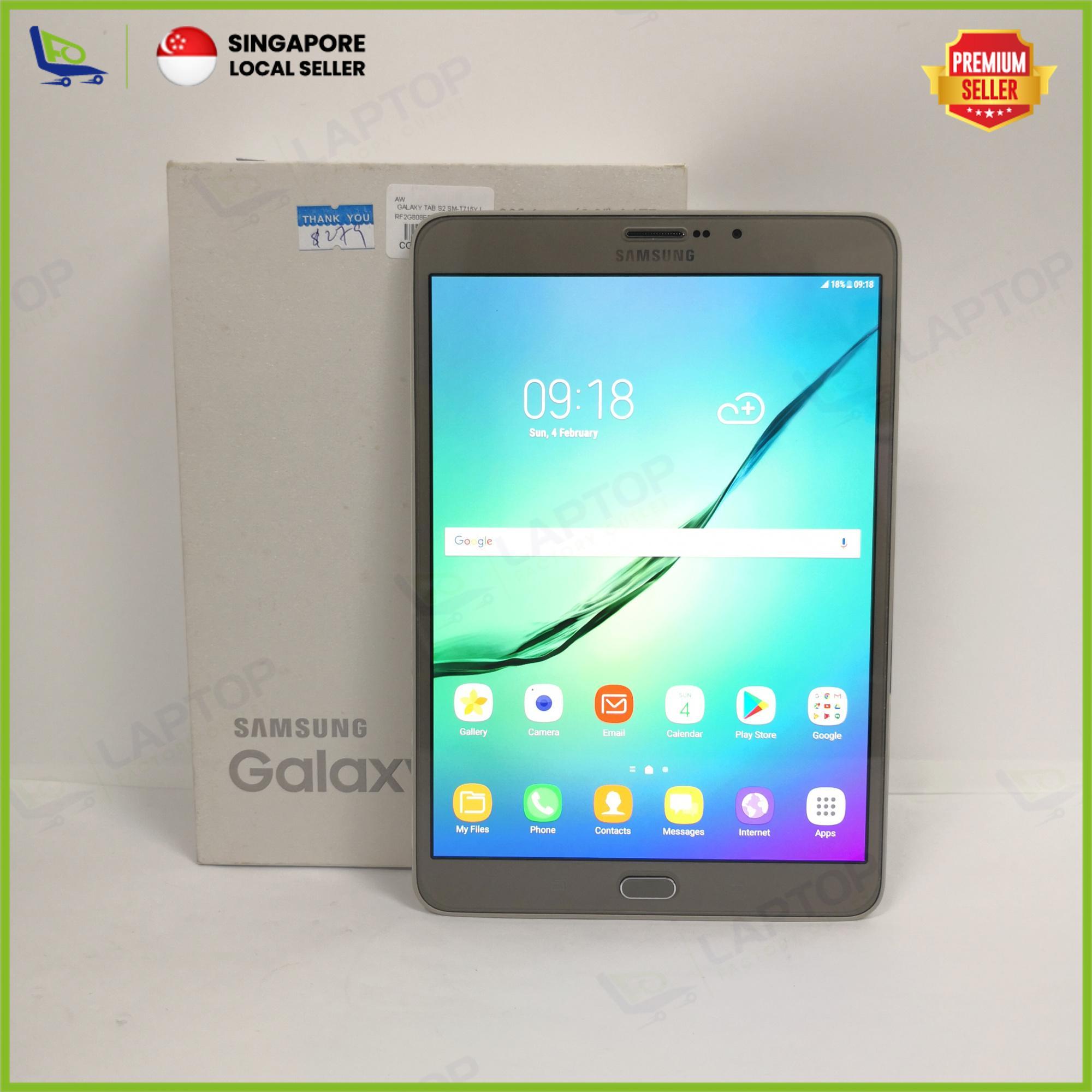 SAMSUNG Galaxy Tab S2 8 0 T715Y (LTE) 32GB Gold [Preowned] Refurbished